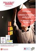 Formation Initiation à l'éclairage performant (1 jour)